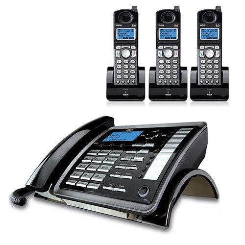 2 25055RE1 DECT 6.0 2-Line Corded//Cordless Phone RCA ViSYS 25255RE2 plus