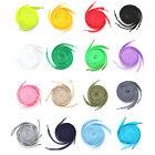 10 Pair Flat Athletic Sport Sneaker Colour ShoeLaces 30 Colors! Shoe Lace String