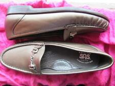 SAS SHOES TRIPAD COMFORT METRO BRONZE LEATHER LOAFERS !SIZE 9N /39!MADE IN USA