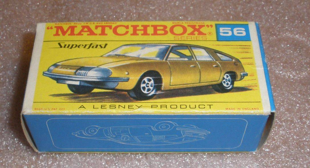 Matchbox BMC 1800 pininafarina  56  superfast MINT NM condition with box