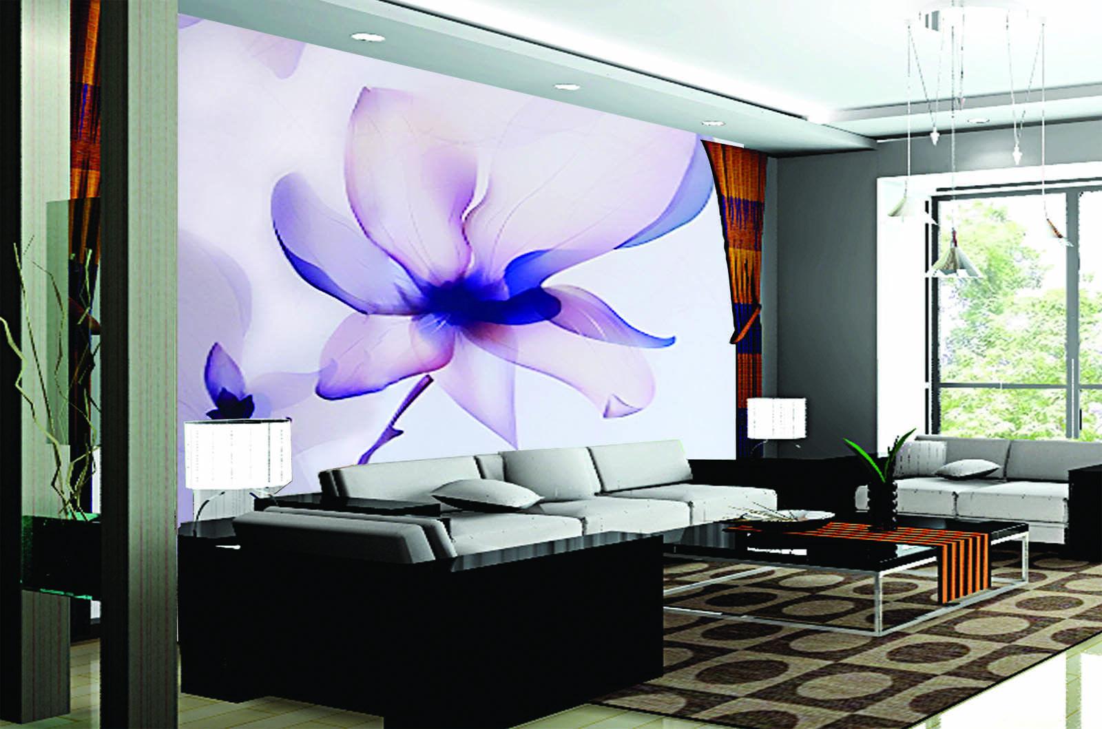 3D Schöne Blaumen 986 Tapete Wandgemälde Tapete Tapeten Bild Familie DE Summer