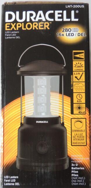Duracell Explorer DEL Outdoor Lampe Camping Lanterne Lampe Piles Incl.