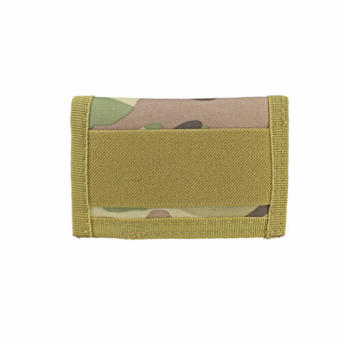 Slim Front Pocket Wallet Nylon Fabric Small Travel ID Credit Card Pouch for Men