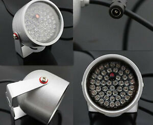 48LED Illuminator IR Infrared Night Vision Light Security Lamp For CCTV Camera B