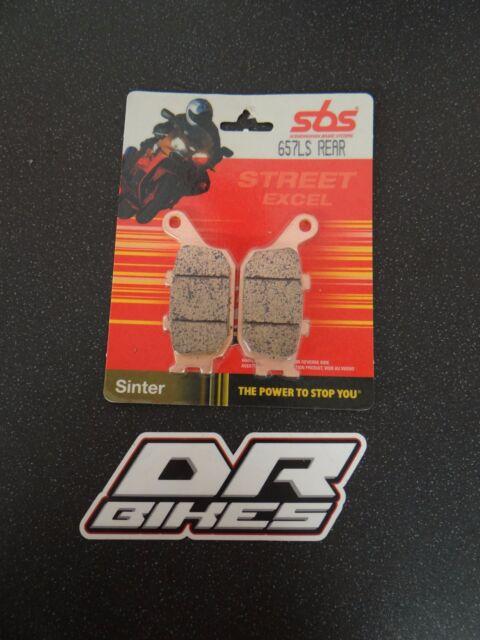 Suzuki SV 1000 S 03 04 05 06 07 SBS Street Sintered Rear Brake Pads 657LS