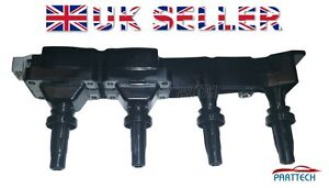 PEUGEOT-206-CC-CONVERTIBLE-1-6-16V-IGNITION-COIL-PACK-RAIL-NEW-96363378-5970-80