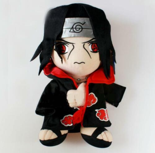 Anime Naruto Uchiha Itachi Cartoon Stuffed Soft Plush Toy Doll Xmas Gift 30cm//12