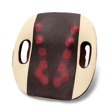 Cushion Lumbar Heat Shiatsu Massage Back Seat Car Neck Massager Support Chair