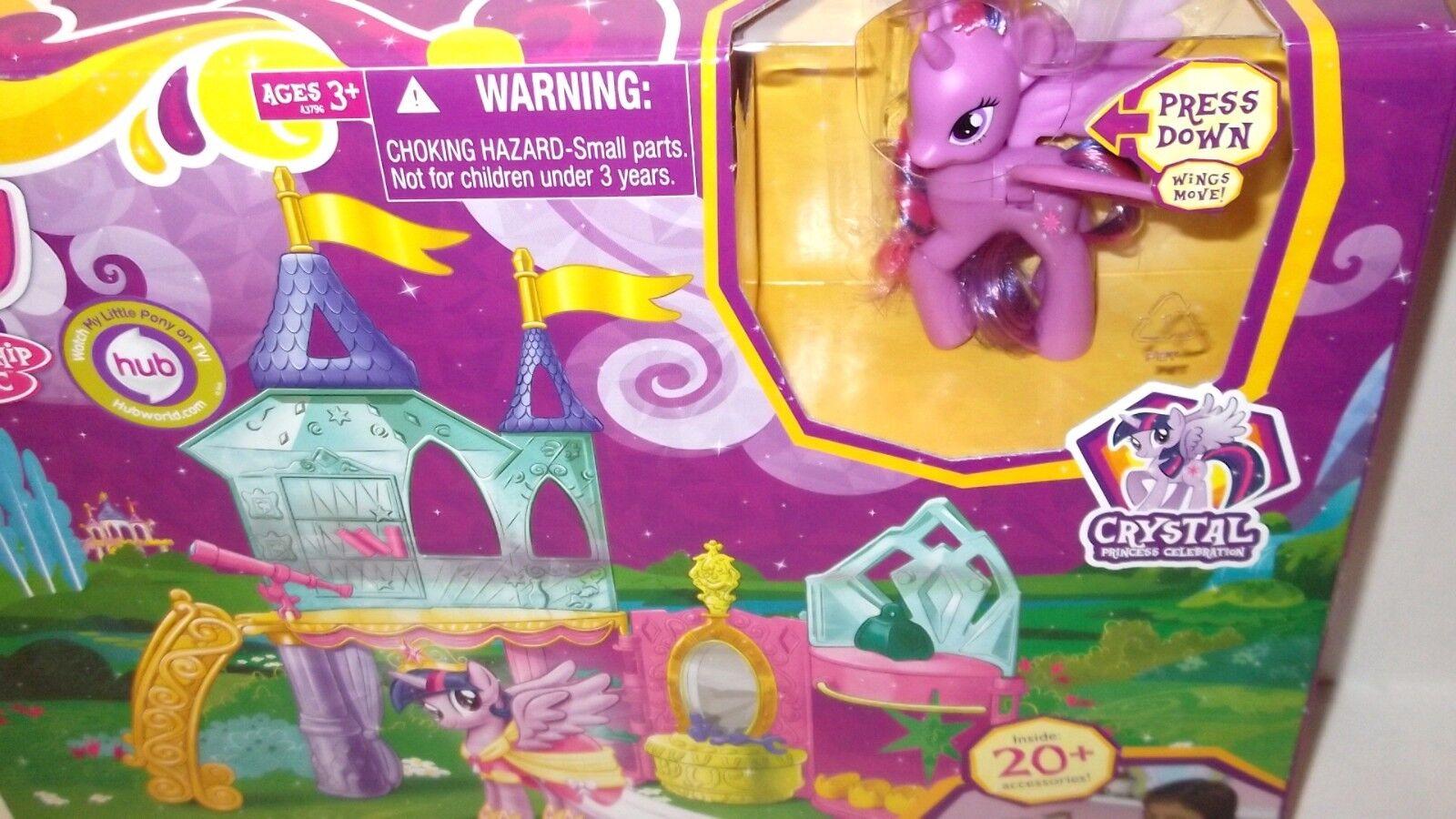 My Little Pony ✰ Crystal Princess Palace ✰ Playset Princess Twilight Sparkle MLP