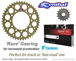 TRIUMPH-1050-Speed-Triple-Cadena-amp-Renthal-pinones-Carreras-Engranaje