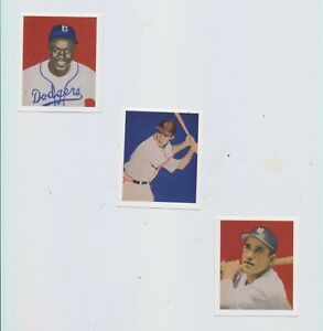 1949-Bowman-Set-reprint-JACKIE-ROBINSON-Rookie-STAN-MUSIAl-amp-1949-West-Coast-set