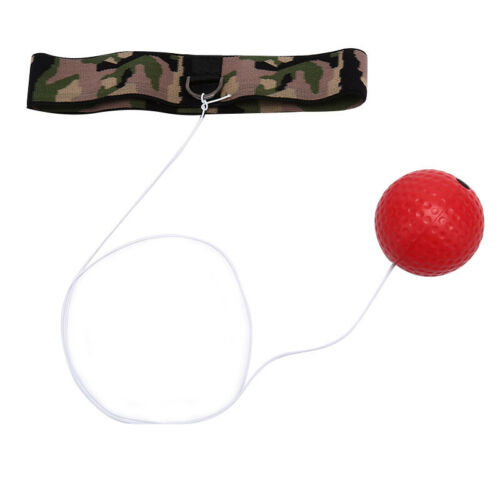 Hand Eye Training Set Head-Mounted Boxing Reflex Ball To Reaction Boxing Ball HF