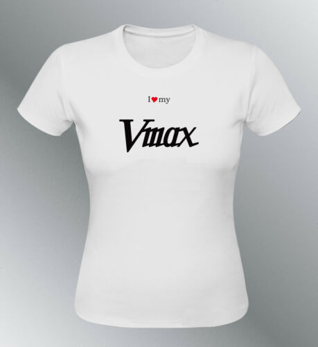 T-shirt passt Vmax S M L XL XXL frau moto V max