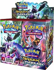 SIX PACKS Pokemon XY Breakthrough Boosters- Factory Sealed Not Whole Box