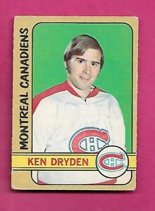 1972-73-OPC-145-CANADIENS-KEN-DRYDEN-2ND-YEAR-GOOD-CARD-INV-C4756
