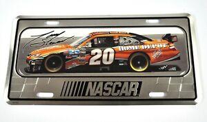 NASCAR 20 USA Auto Nummernschild License Plate Deko Blech Schild Blechschild