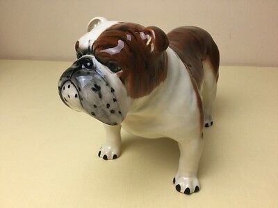 Vintage Beswick Large Bulldog Basford British Mascot 965 Gloss Perfect