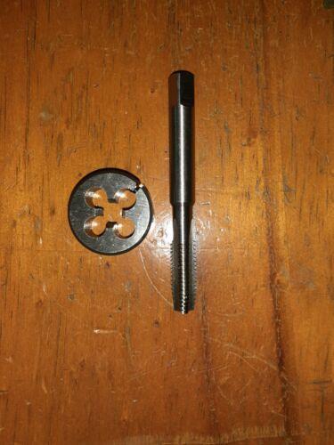 """M2 ISO M10 X 1.0 RH HSS HAND TAP OD 1/"""" split screw Die button"""
