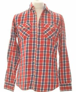 Chemise Manches Longues Jules Taille 38 - T2 - M Rouge Homme