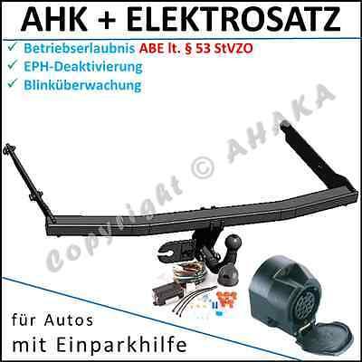AHK ES13 ABE Ford Focus CMAX 03-10 Anhängerkupplung DPC EPH-Abschaltung komplett