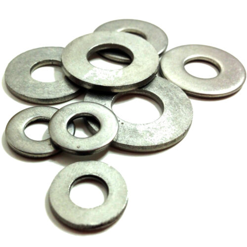 """3//16/"""" 1//4/"""" 5//16/"""" 3//8/"""" 7//16/"""" 1//2/"""" Imperial Flat Heavy Washers BZP Zinc Table 3"""