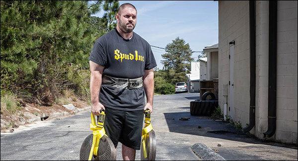 Spud Traveling Farmers Walk Handles - Strongman Training