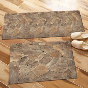 Broken Marble Texture Themed Area Rugs Bedroom Rug Living