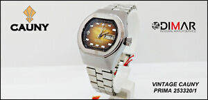 Vintage Cauny PRIMA 253320/1- Waterproof - Cal. AS.5103 Automatic. Woman