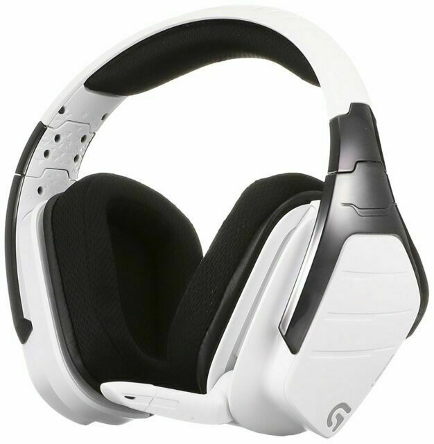 01186 Logicool G933 White Wireless Snow Rgb Surround Dolby Gaming Headset For Pc For Sale Online Ebay