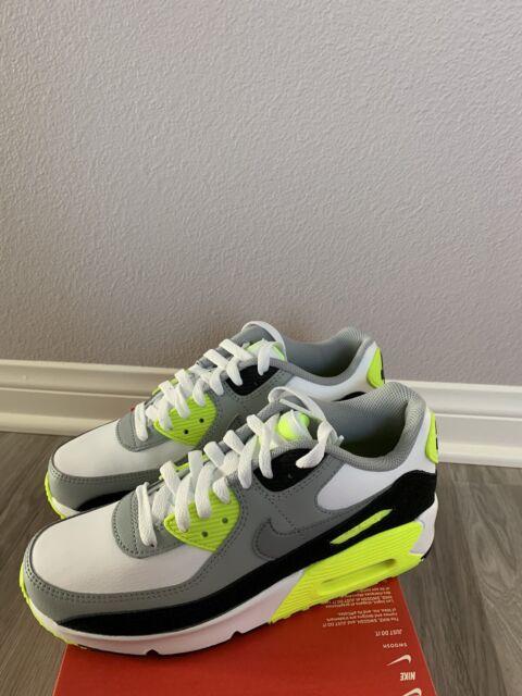 Nike Air Max 90 GS Lime OG Cd6864-101 Sz 4.5y or Ladies 6