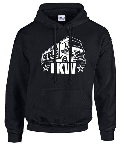 Sweatshirt Véritable mecs conduire CAMION CHAUFFEUR TRUCKER Camion sort drôle Vêtements