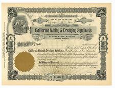 Goldfield Daisy Mining Syndicate Goldfield, Nevada 1907 Arizona