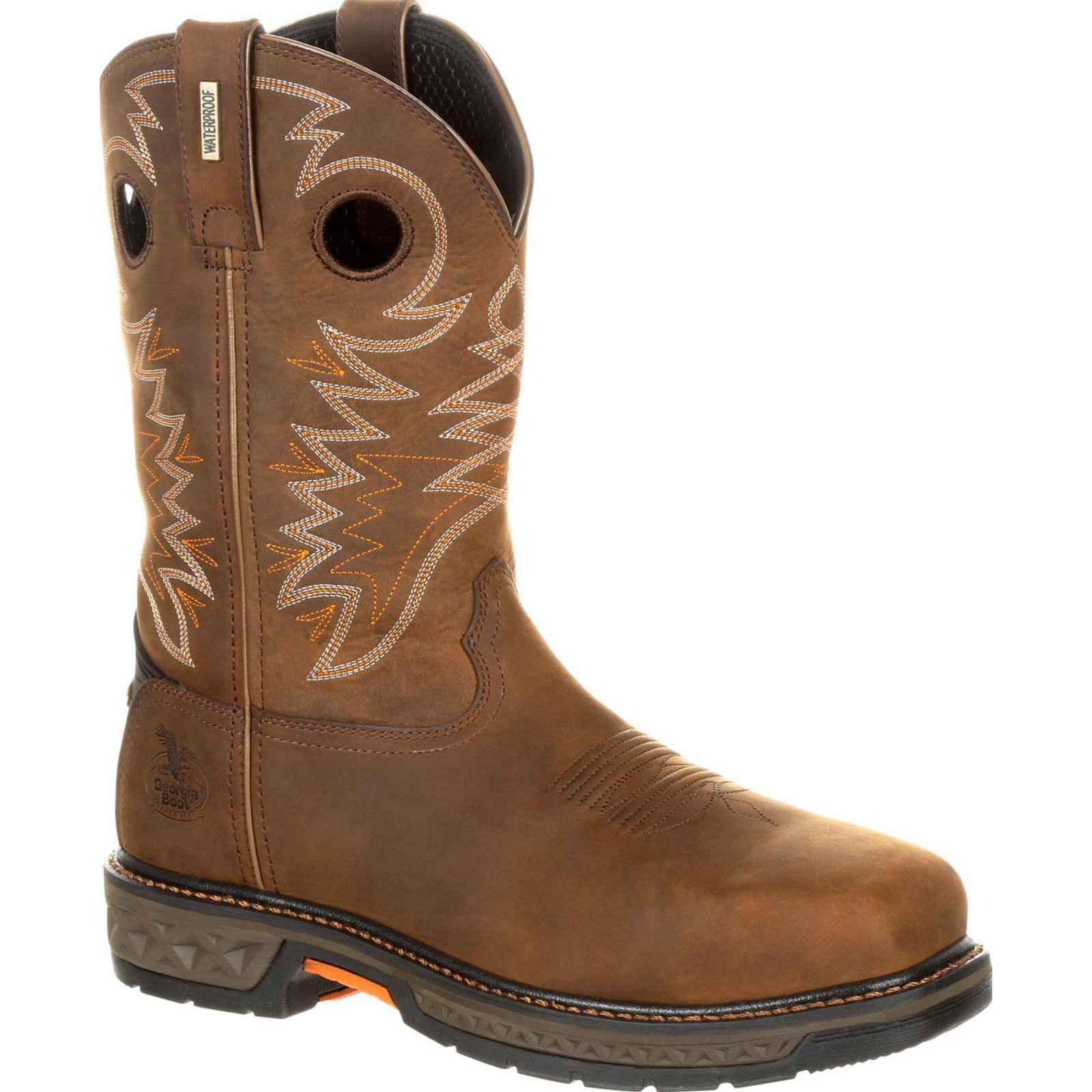 Georgia Boot Men's Carbo-Tec Alloy Toe Waterproof Pull-On Boot GB00224