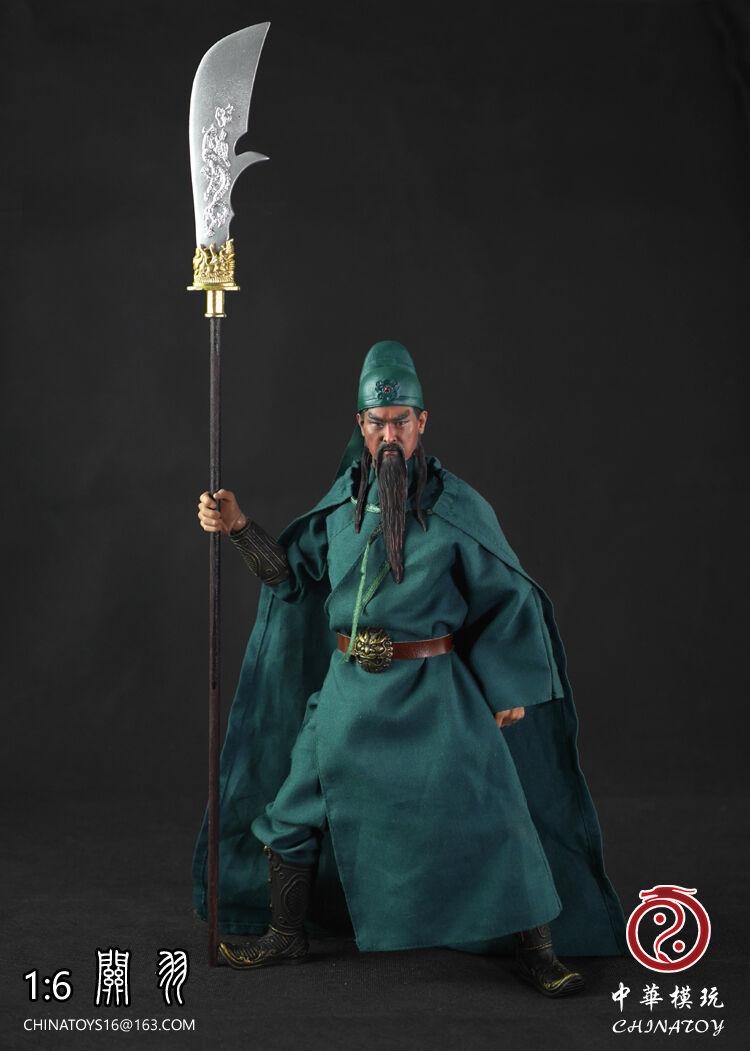 Romance of Three Kingdoms Guan Yu Clothing & Head & Sword Set 1/6 (NO BODY)