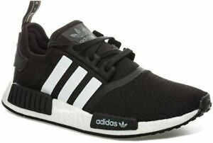 ADIDAS-Originals-NMD-R1-Boost-Unisex-Trainers-Sport-Shoes-Black-White-Brand-New