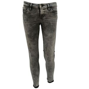 330a66bc Diesel Jeans SKINZEE LOW-C 0679S 22 Slim Skinny Gray Distressed ...