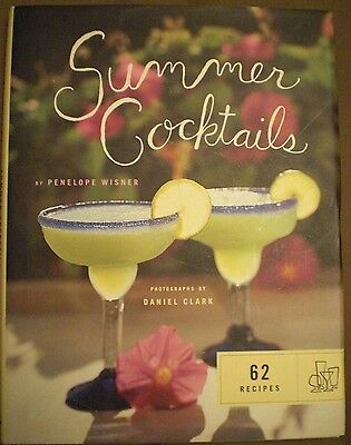 Summer Cocktails by Penelope Wisner (1998, Hardcover)