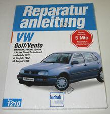 Reparaturanleitung VW Golf III Typ 1H / Vento + Synchro Turbo Diesel TD TDI NEU!