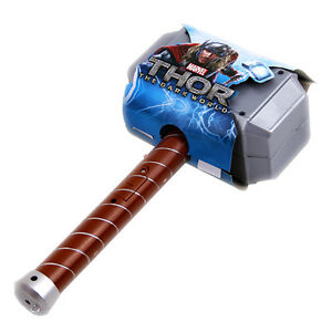 avengers thor light hammer cosplay model toy avengers age