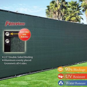 4 X 50 3rd Gen Olive Dark Green Fence Privacy Screen