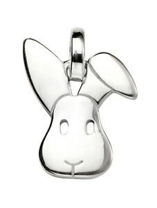 925-Sterling-Silver-Bunny-Rabbit-Pendant-Necklace-Chain-Included