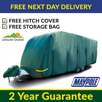 Leisure Depot 4 Ply Waterproof Breathable Premium Motorhome Cover 7.5M to 8.0M