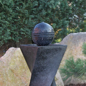 Clgarden Solar Springbrunnen Nsp4 Solarbrunnen Garten Brunnen Mit