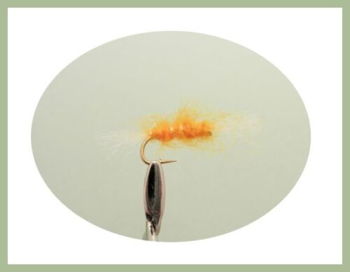 Fly Fishing Mixed Colours 12 Pack Shipman Buzzer Trout flies Choice of Sizes