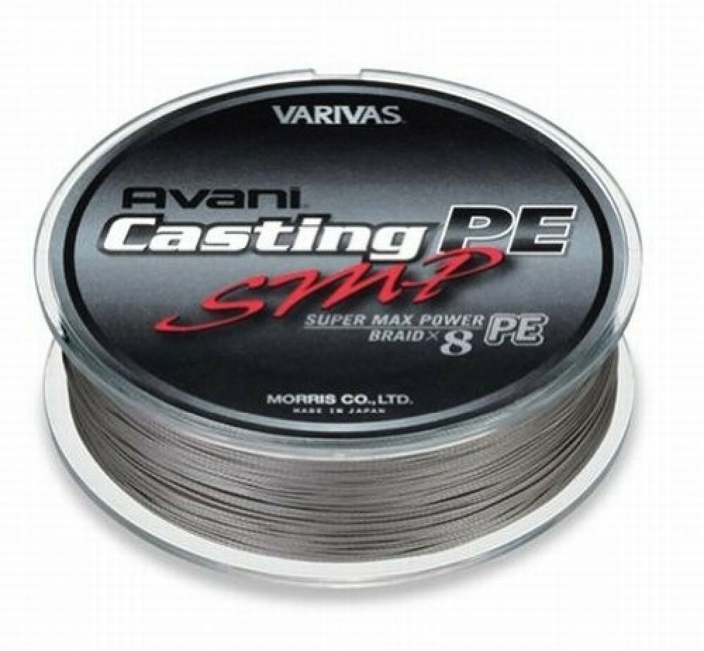 VARIVAS AVANI Casting PE line SMP Super Max Power  Max 50lb 600m 8 BRAIDED  best-selling