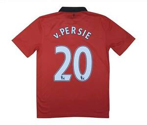 Manchester United 2013-14 Authentic Home Shirt V. PERSIE #20 (eccellente) S