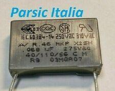 Kemet r46ki24700001m 1 pz condensatore di soppressione interferenze mkp