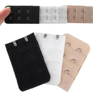 cc8339b4f5 3 pcs Adjustable Bra Buckle Extender Bra Extension Underwear Strap 2 ...