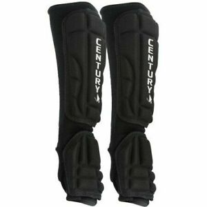 CENTURY Martial Arts Armor Sparring Protective Hand Forearm Guards Black Large
