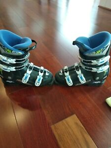 Very-Clean-Nordica-GPTJ-Youth-Ski-Boots-Size-25-5-290mm-downhill-kids-boys-girls